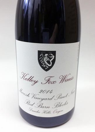 Kelley Fox Wines Maresh Vineyard Pinot Noir 2014