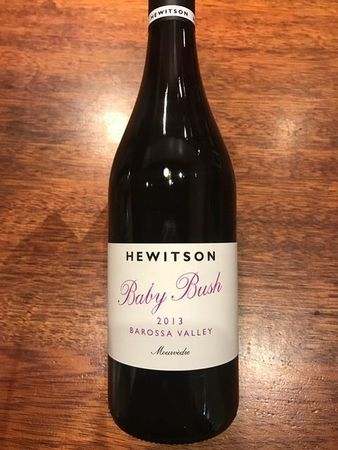 Hewitson Baby Bush Barossa Valley Mourvedre 2013