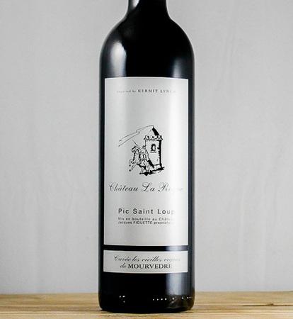 Château La Roque Cuvée Les Vieilles Vignes de Mourvedre Coteaux du Languedoc Pic St. Loup 2014