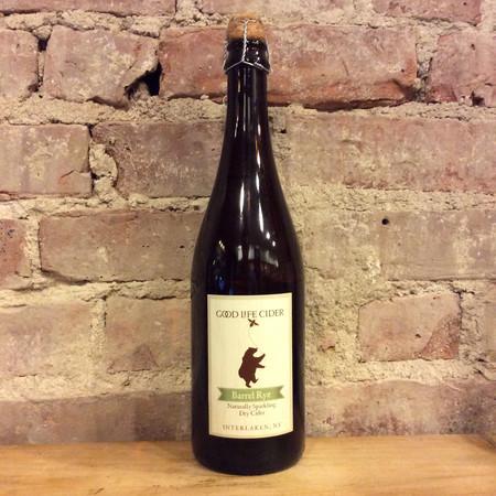 Good Life Cider Barrel Rye Off-dry Cider NV