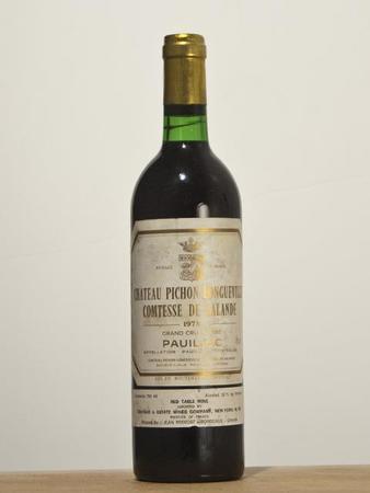 Château Pichon Longueville Comtesse de Lalande Pauillac Red Bordeaux Blend 1990