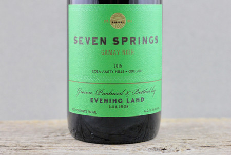 Evening Land Vineyards Seven Springs Vineyard Gamay Noir 2015
