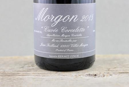 "Jean Foillard ""Cuvée Corcelette"" Morgon Gamay 2015"