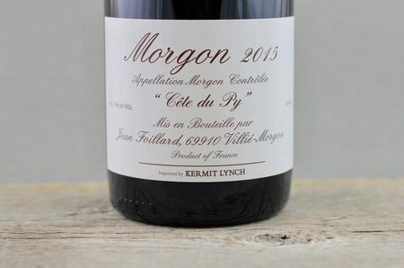 Jean Foillard Côte du Py Morgon Gamay 2015