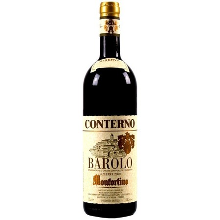 Giacomo Conterno Monfortino Riserva Barolo Nebbiolo 1961