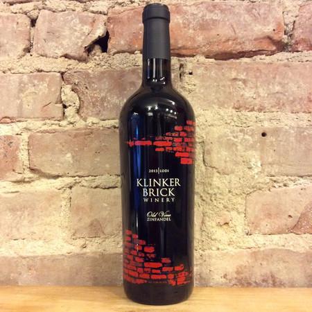 Klinker Brick Old Vine Lodi Zinfandel 2014
