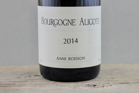 Anne Boisson Bourgogne Aligoté  2014
