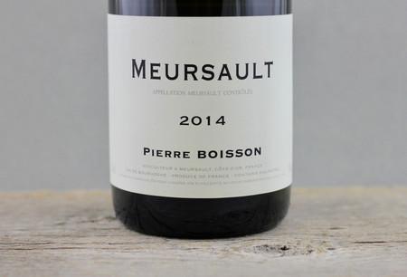 Pierre Boisson Meursault Chardonnay 2014