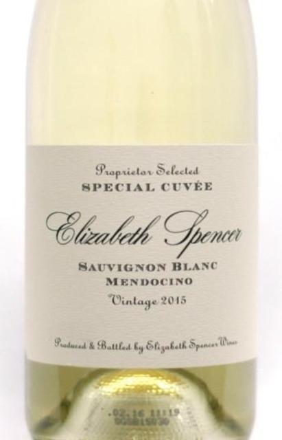 Elizabeth Spencer Mendocino Sauvignon Blanc 2016