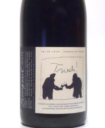 Catherine et Pierre Breton Trinch Bourgueil Cabernet Franc 2015