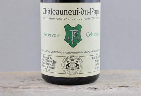 Henri Bonneau Réserve des Célestins Châteauneuf-du-Pape Red Rhone Blend 1988