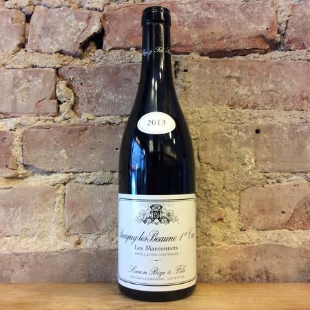 Simon Bize & Fils Les Marconnets Savigny-lès-Beaune 1er Cru Pinot Noir 2013