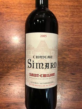 Château Simard Saint-Émilion Red Bordeaux Blend 2005