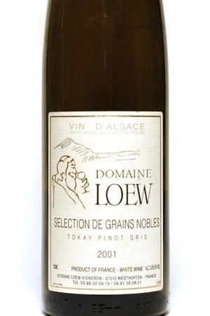 Domaine Loew Alsace Tokay Pinot Gris SGN 2001 (500ml)
