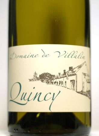 Jacques Rouze Les Grandes Vignes de Villalin Quincy Sauvignon Blanc 2016