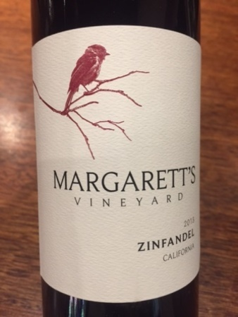 Margarett's Vineyard California Zinfandel 2013