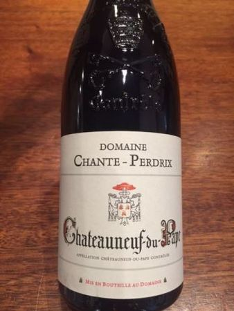 Domaine Chante-Perdrix Selection Reflets Châteauneuf-du-Pape Red Rhone Blend 2012