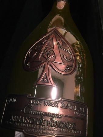 Armand de Brignac Ace of Spades Brut Rosé Champagne Blend