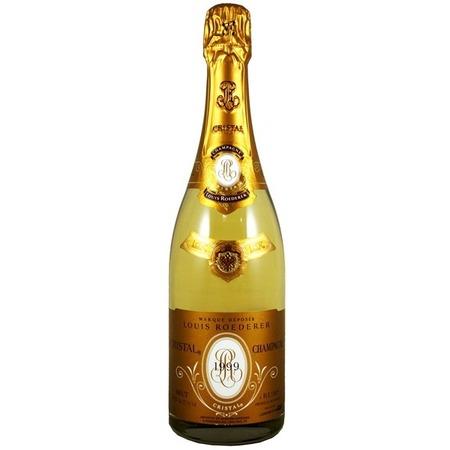 Louis Roederer Cristal Brut Champagne Chardonnay Pinot Noir Blend 1999