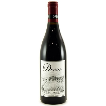 Drew Family Cellars Estate Field Selections Mendocino Ridge Pinot Noir 2014