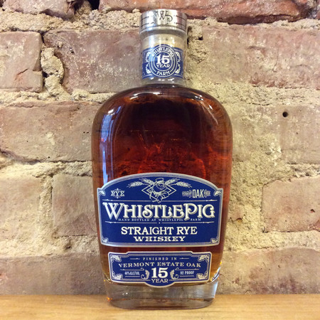 Whistlepig 15 Year Vermont Estate Oak Straight Rye Whiskey NV