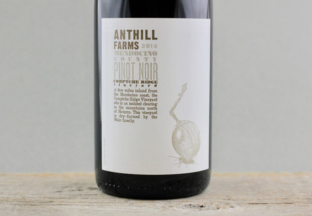 Anthill Farms Comptche Ridge Vineyard Pinot Noir 2014