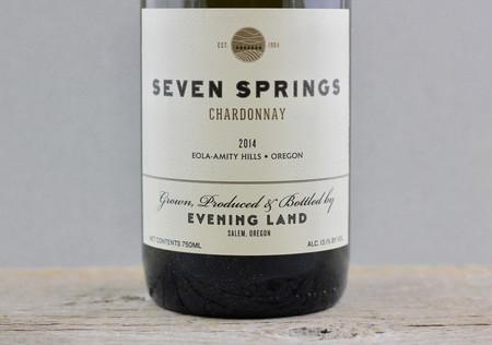 Evening Land Vineyards Seven Springs Vineyard Chardonnay 2014