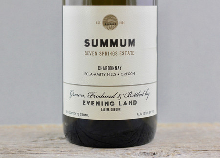 Evening Land Vineyards Summum Seven Springs Vineyard Chardonnay 2014
