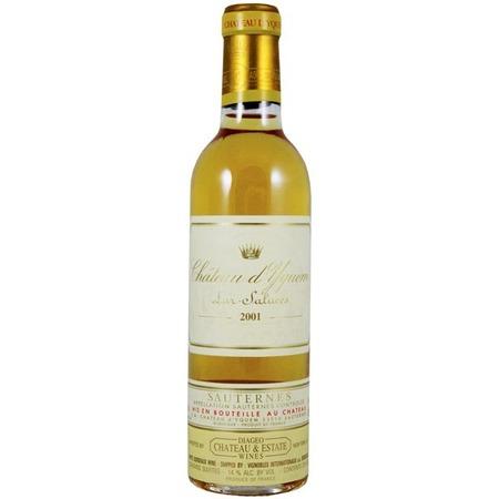Château d'Yquem Sauternes Sémillon-Sauvignon Blanc Blend 2001 (375ml)