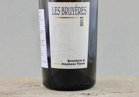 Bénédicte & Stéphane Tissot Les Bruyères Arbois Savagnin 2013
