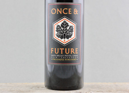 Once & Future Wines Palisades Vineyard Petite Sirah 2014