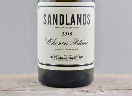 Sandlands Amador County Chenin Blanc 2015