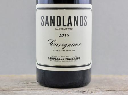 Sandlands California Carignane 2015