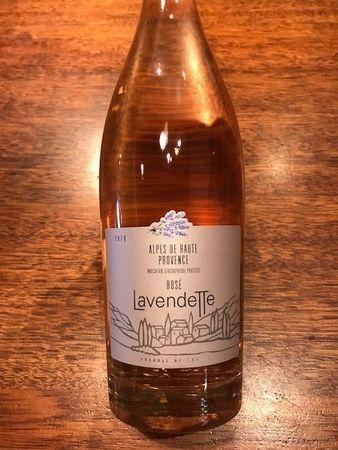 Lavendette Alpes de Haute Grenache Blend Rosé  2016