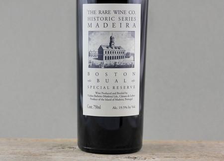 Vinhos Barbeito (Rare Wine Company Historic Series) Boston Special Reserve Bual Madeira NV