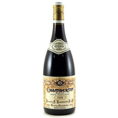 Domaine Armand Rousseau  Chambertin Grand Cru Pinot Noir 2008
