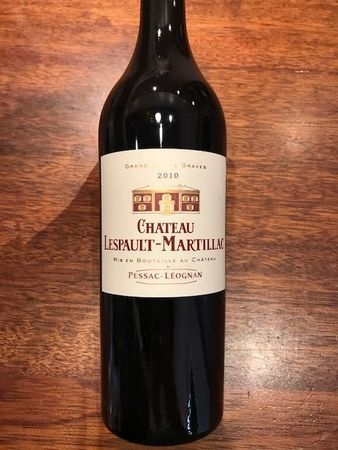 Chateau Lespault Martillac Pessac-Léognan Red Bordeaux Blend 2010