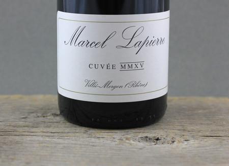 Marcel Lapierre Cuvée MMXV Morgon Gamay 2015