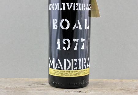 D'Oliveiras Madeira Boal 1977