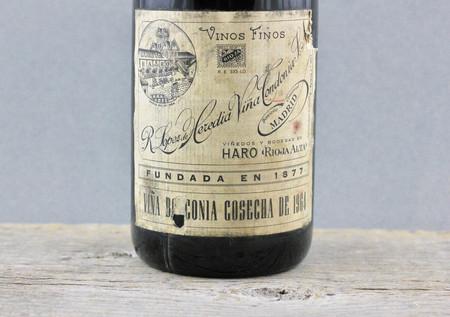 R. López de Heredia Viña Bosconia Gran Reserva Rioja Tempranillo Blend 1964