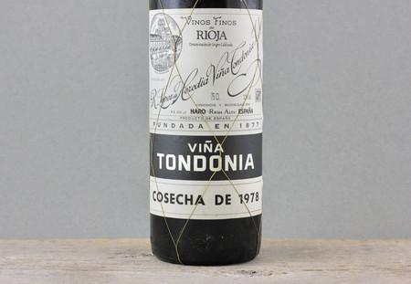 R. López de Heredia Viña Tondonia Gran Reserva Rioja Tempranillo Blend 1978