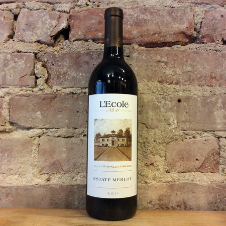 L'Ecole No. 41 Seven Hills Vineyard Estate Merlot 2011
