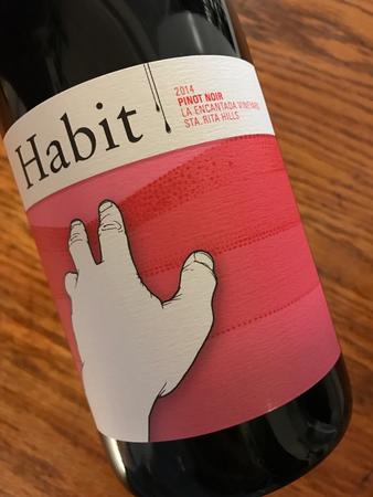 Habit Wine Company La Encantada Vineyard Pinot Noir 2014