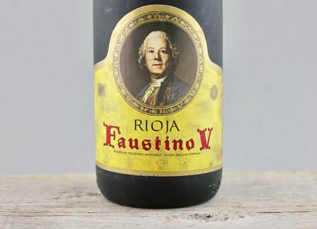 Bodegas Faustino Faustino V Reserva Rioja Tempranillo Blend 1975