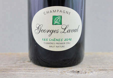 Georges Laval Cuvée les Chênes 1er Cru Brut Nature Champagne 2012