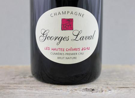 Georges Laval Les Hautes Chèvres 1er Cru Brut Nature Champagne 2012