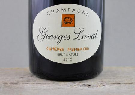 Georges Laval Brut Nature Cumières 1er Cru Champagne Blend 2012 (1500ml)