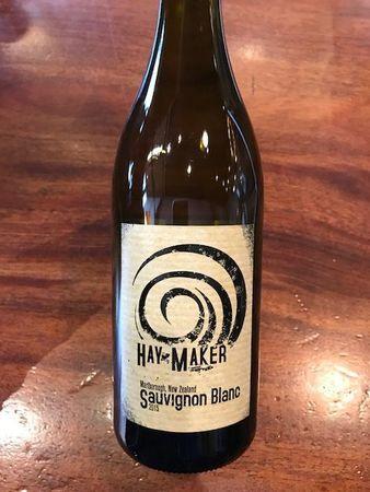 Hay Maker Marlborough Sauvignon Blanc 2016