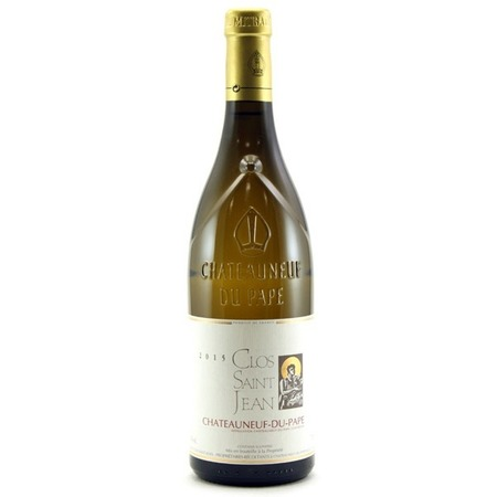 Clos Saint Jean Châteauneuf-du-Pape Blanc White Rhone Blend 2015