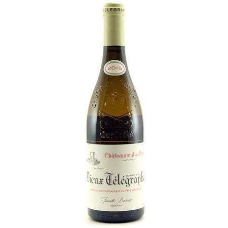 Domaine du Vieux Télégraphe La Crau Châteauneuf-du-Pape Blanc White Rhone Blend 2015